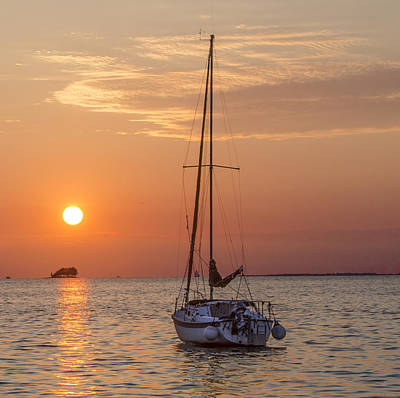 Key West Photograph - Sailing In Paradise by Bill Cannon