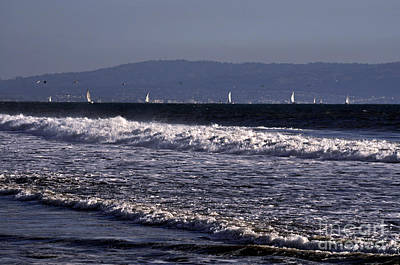 Photograph - Sailing In Santa Monica by Clayton Bruster