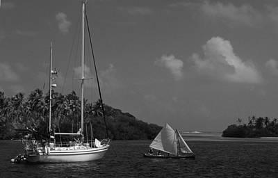 Sailing In The San Blais Islands Art Print