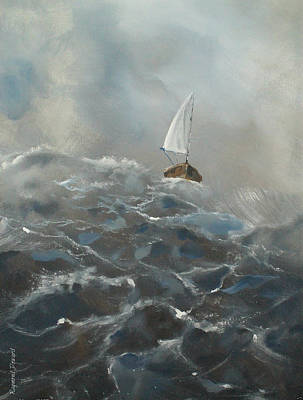 Painting - Sailing In The Wind by Raymond Doward