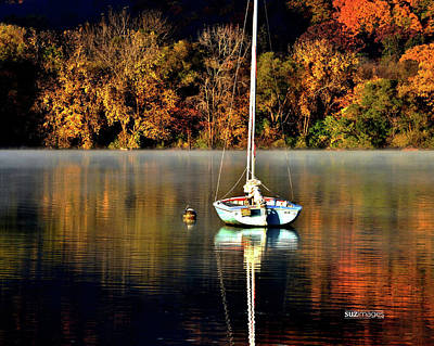 Photograph - Sailing Into Fall by Susie Loechler