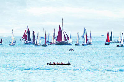 Photograph - Sailing Into The Heat Haze by Terri Waters