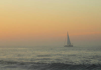 Photograph - Sailing Into The Mist by Robert Banach