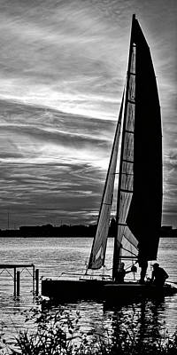 Photograph - Sailing - Lake Monona - Madison - Wisconsin 2 by Steven Ralser
