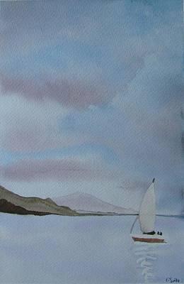 Sailing Art Print by Liz Vernand