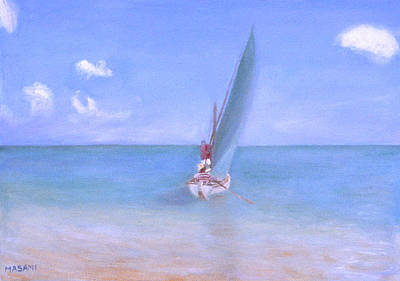 Painting - Sailing by Masami Iida
