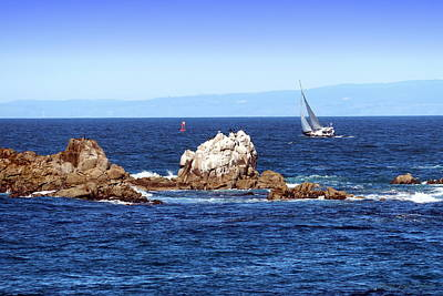 Photograph - Sailing Monterey Bay by Joyce Dickens