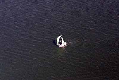 Photograph - Sailing Narragansett Bay by Duncan Pearson