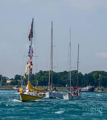 Photograph - Sailing North by Grace Grogan