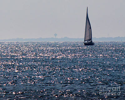 Photograph - Sailing On Diamonds by Cheryl Del Toro