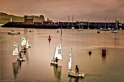 Photograph - Sailing On Dublin Bay by Wallaroo Images