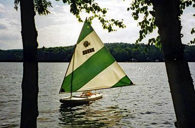 Photograph - Sailing On Lake Dunmore No. 1 by Sandy Taylor