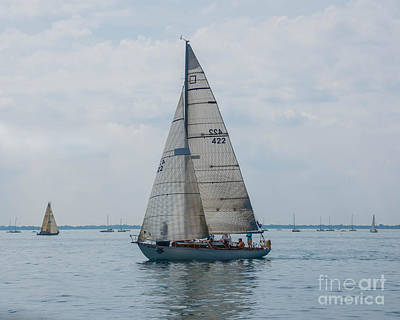 Photograph - Sailing On Lake Huron by Grace Grogan