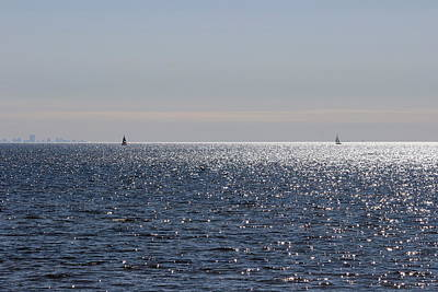 Photograph - Sailing On Lake Pontchartrain by Beth Vincent