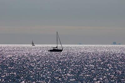 Photograph - Sailing On Lake Pontchartrain - II by Beth Vincent
