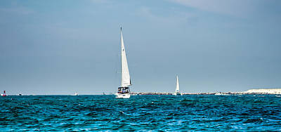 Photograph - Sailing On The Bay  by Debra Forand