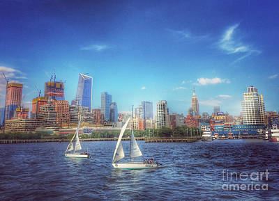 Photograph - Sailing On The Hudson by Miriam Danar