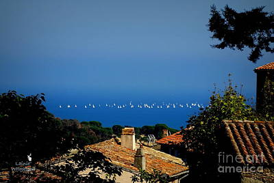 Photograph - Sailing Over The Roof Tops by Lainie Wrightson