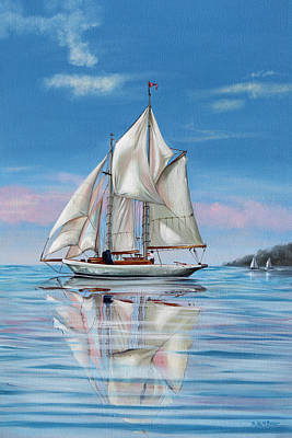 Painting - Sailing by Phyllis Beiser