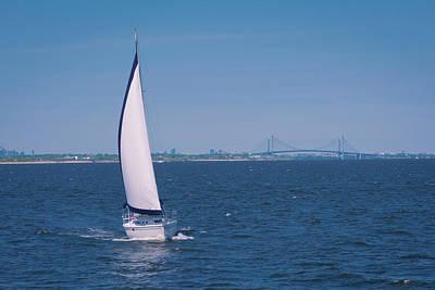Photograph - Sailing Raritan Bay by Kenneth Cole