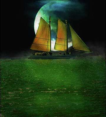 Digital Art - Sailing Safari  by Michael Cleere