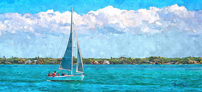Photograph - Sailing Sarasota Bay by Susan Molnar