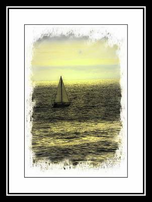 Photograph - Sailing by Sherman Perry