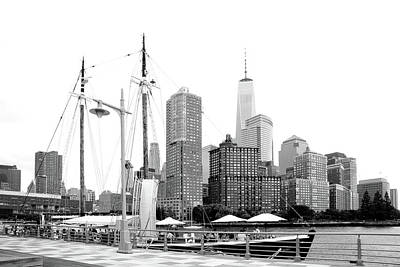 Photograph - Sailing Ship And Skyline by Cate Franklyn