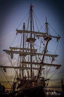 Sailing Ships 2 Shipping Art Art Print by Reid Callaway
