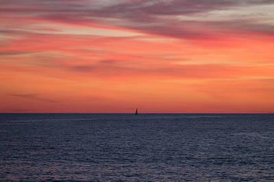 Photograph - Sailing Smooth Seas by Robert Banach