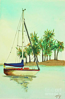 Painting - Sailing by Terri Mills