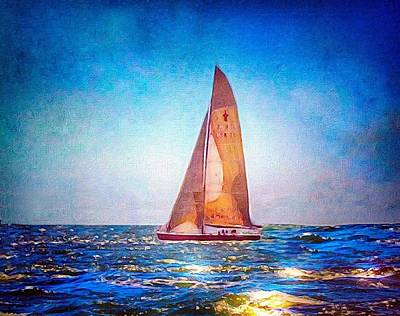 Photograph - Sailing The Atlantic by Anne Sands