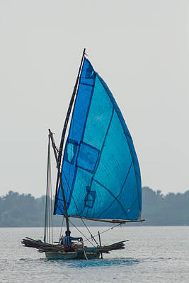 Photograph - Sailing The Blue  by Ramabhadran Thirupattur