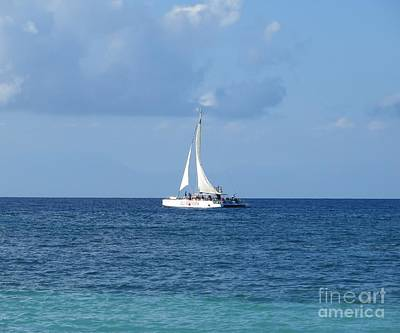 Photograph - Sailing The Caribbean by Tim Townsend