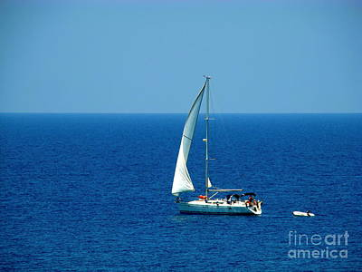 Photograph - Sailing The Deep Blue Sea by Sue Melvin