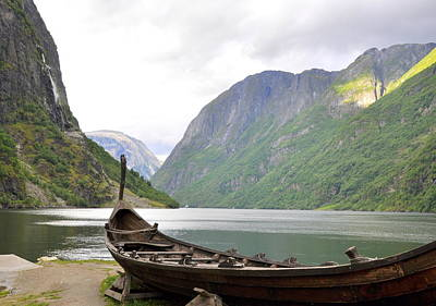 Photograph - Sailing The Fjords by Ambika Jhunjhunwala
