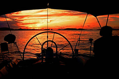 Photograph - Sailing The Islands, Usvi by Bill Jonscher