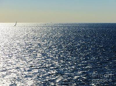 Photograph - Sailing The Mediterranean II by Tim Townsend