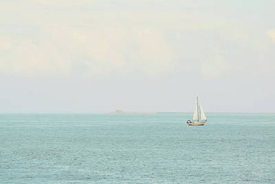 Photograph - Sailing The Ocean Blue by Deborah  Crew-Johnson