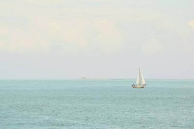 Photograph - Sailing The Ocean Blue by Deborah  Crew-Johnson