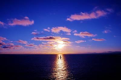 Photograph - Sailing The Ocean Blue by Jonathan Bayani