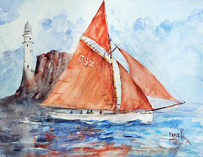 Painting - Sailing The Open Sea... by Faruk Koksal