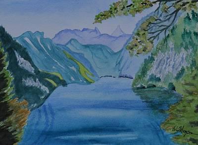 Sailing To Salzburg Original by Warren Thompson