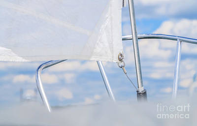 Photograph - Sailing To The Clouds by Elizabeth Dow