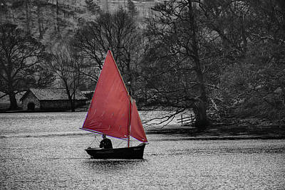 Photograph - Sailing Ulswater by David French