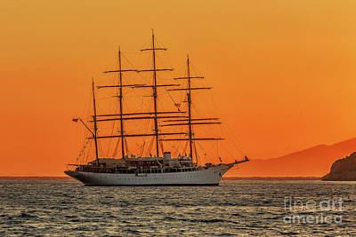 Photograph - Sailing Vessel by Antonis Androulakis