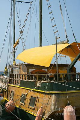 Sailing Vessel  Art Print by Bob Phillips