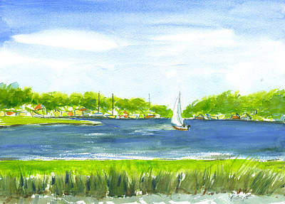 Painting - Sailing Wexford by Frank Bright