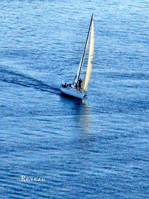 Photograph - Sailing With A List by Sadie Reneau