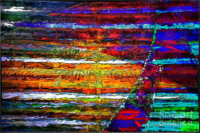Digital Art - Sailing With Color by Georgianne Giese